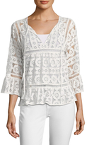 Plenty by Tracy Reese Lace Cotton Blouse