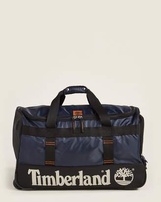 "Timberland 26"" Blue & Black Jay Peak Wheeled Duffel"