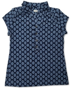 Charter Club Iconic Abstract-Print Polo Shirt, Created for Macy's