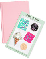 Celebrate Shop Pink Journal with Stickers, Only at Macy's