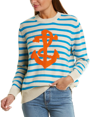 Chinti and Parker Chunky Anchor Sweater