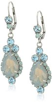 "Sorrelli Teal Textile"" Sweet Treats Drop Earrings"