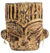 Ceramic vase, 'Gecko Spirit'