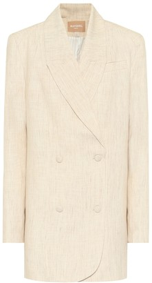 MATÉRIEL Double-breasted twill blazer