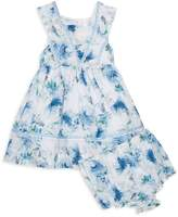 Laura Ashley Baby Girl's 2-Piece Floral Flare Dress & Bloomers Set
