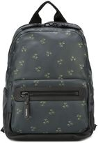 Lanvin plant print backpack