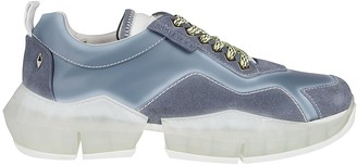 Jimmy Choo Diamond Denim Sneakers
