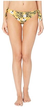 Roxy Wavy Soul Full Swim Bottoms (Honey Gold Honey) Women's Swimwear