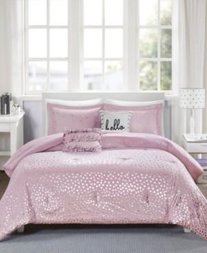 Intelligent Design Zoey Reversible 5-Pc. Full/Queen Comforter Set Bedding