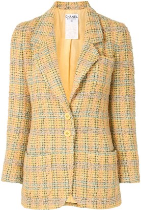Chanel Pre Owned 1994 Tweed Blazer