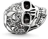 "Thomas Sabo Skull With Lily"" Blackened Bead"