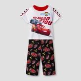 Cars Toddler Boys' Pajama Set - White
