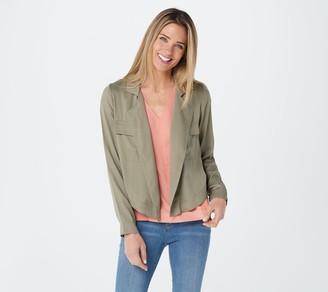 Laurie Felt Flowy Army Jacket