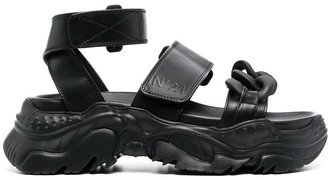 No.21 Billy chunky sole sandals