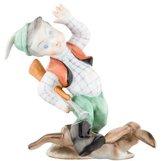 Herend Little Hunter Porcelain Figurine