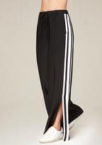 Bebe Ankle Slit Track Pants