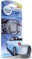 Febreze Car Vent Clip New Car Scent Air Freshener, 0.06 Fluid Ounce -- 8 per case.