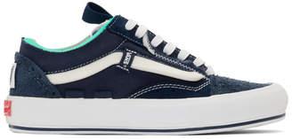 Vans Blue Regrind Old Skool Cap LX Sneakers