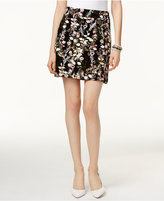INC International Concepts Petite Floral-Print Mini Skirt, Only at Macy's