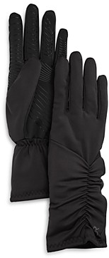 URBAN RESEARCH U/R Ruched Faux Fur Lined Tech Gloves