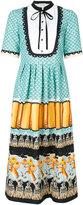 Temperley London Foxglove printed shirt dress