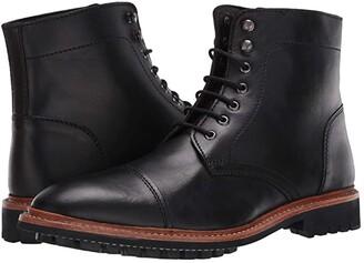 Anthony Veer Ranveer Cap Toe Boot (Black) Men's Boots