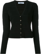 Blumarine v-neck cropped cardigan - women - Polyamide/Viscose - 40