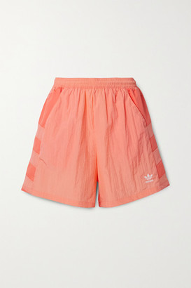 adidas Paneled Shell Shorts - Coral