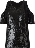 P.A.R.O.S.H. sequin top - women - Viscose/PVC - S