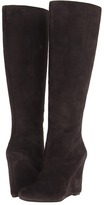 Nine West Ravvy (Dark Grey Suede) - Footwear