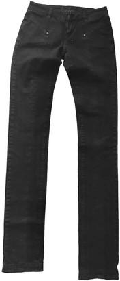 L'Wren Scott Black Cotton Jeans for Women