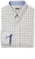 J.Mclaughlin Carnegie Classic Fit Shirt in Mini Check