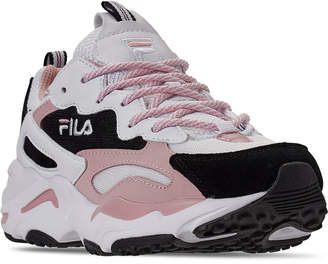 Fila Women Ray Tracer Casual Sneakers from Finish Line