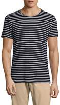 Save Khaki Men's Marine Stripes Cotton Tee