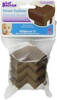 Kid Kusion 4 pack brown Toddler Corner Cushions, Brown