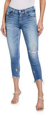 Moussy Glendele Cropped Skinny Jeans