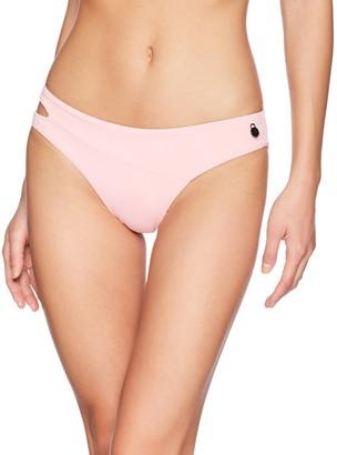 Volcom Women's Junior's Simply Seamless Classic Full Bikini Bottom