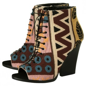 Burberry Multicolour Cloth Ankle boots