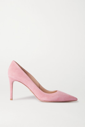 Prada 85 Suede Pumps - Pink