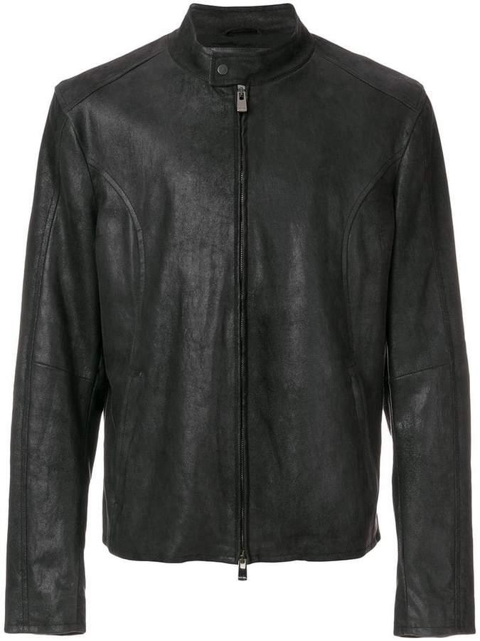 Drome zip up panelled jacket