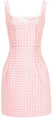 Emilia Wickstead Jude Textured-crepe Mini Dress