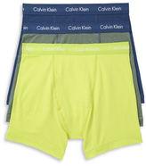 Calvin Klein Three-Pack Cotton Stretch Boxer Briefs