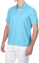 Caribbean Joe Pique Polo Shirt - Short Sleeve (For Men)
