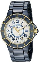 A Line a_line Women's 20040-WWWRR Marina Blue Ceramic Watch