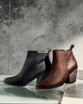Cole Haan Chesney Leather Ankle Bootie, Cognac