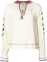 Ulla Johnson embroidered blouse - women - Silk - 6