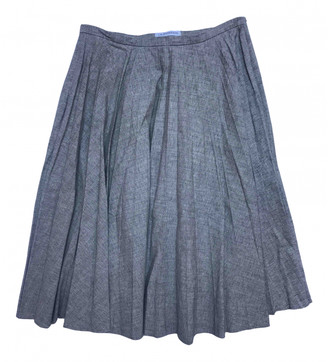 J.W.Anderson Grey Cotton Skirts