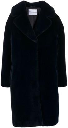 Stand Studio Faux Fur Midi Coat
