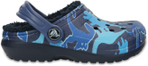 Crocs Blue Camo Graphic Lined Clog