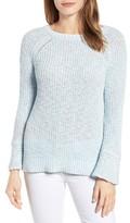 Velvet by Graham & Spencer Women's Cotton & Linen Tie Back Sweater